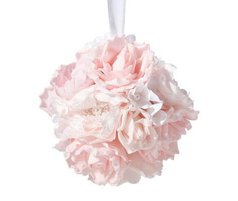 blush home decor.htm blush pink flower ball  blush pink flower ball