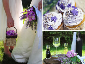 Fragrant Lavender -- Creating a Vibrant Wedding Day Experience