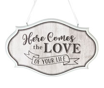 Wedding Hanging Sign