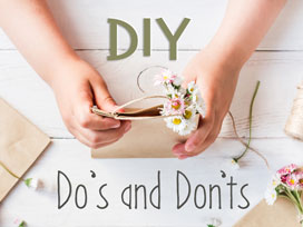 3 Things to Consider Before Starting Your Wedding DIY