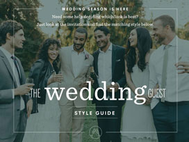 Guide to Wedding Guest Attire
